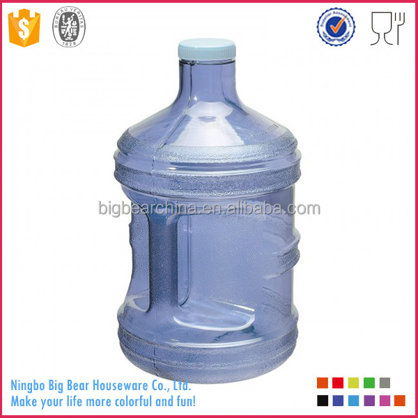 Wholesale 1 Gallon BPA FREE Reusable Plastic Drinking Water Bottle Container