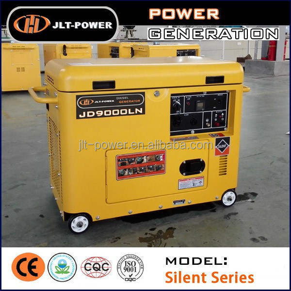 2016 Promotion : CE GS 5KW Soundproof Home Diesel Generator Price List from Whatsapp 008617759008422