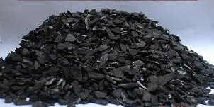 Coconut shell charcoal, charcoal