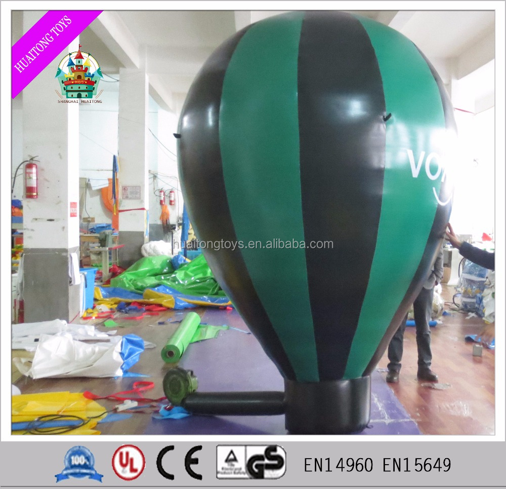 2017 large Inflatable floating advertising fire balloon model for advertisement and amusement
