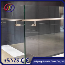 Beijing Haiyangshunda high thickness 8mm 10mm 12mm 15mm 19mm Tempered Glass for building price