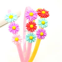 Festival hair accessories fashion floral headbands for girl