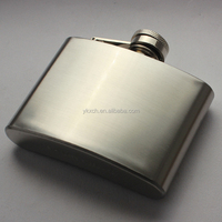 5oz stainless steel hip flask whiskey flask