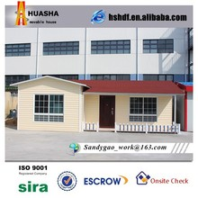 Fashionable customized hot sale home manufacture prefab villa