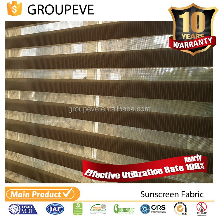 Custom OEM Professional Pleated Double Rolling Shutter