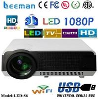 led projector 5000 lumens star beauty led projector light