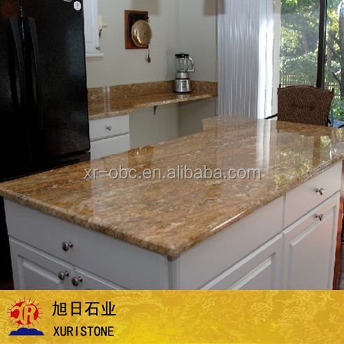 gold granite slabs, cut to size stone form, imperial gold granite countertop