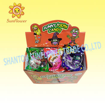 2016 New Style Funny Buck Teeth Hard Toy Candy