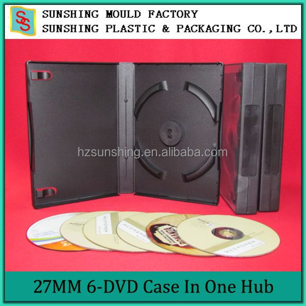 27mm DVD Case For 6/12 Disc DVD Case Wholesales