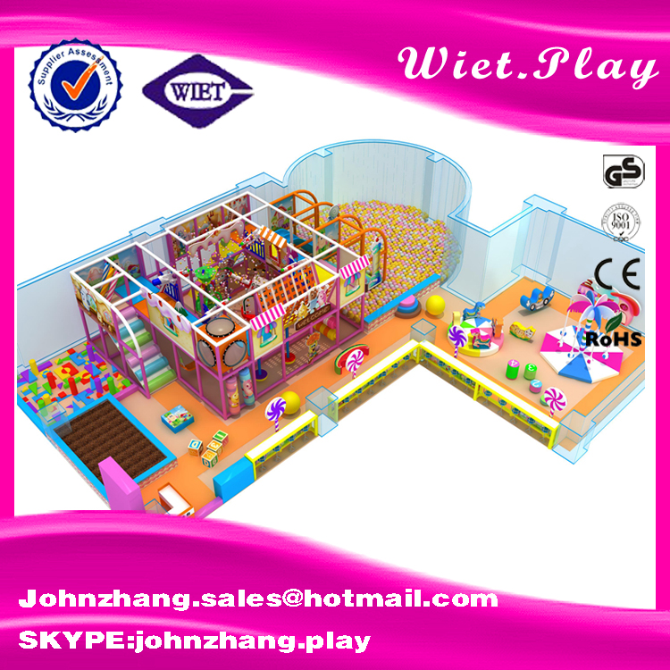 Customized preschool kids Children Amusement Park Equipment sea ball world series theme indoor playground