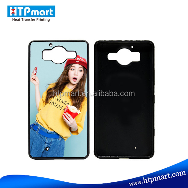 custom heat transfer sublimation cover phone case for Nokia 950