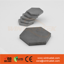 Ballistic Ceramic / Silicon Carbide / SiC Ceramic Armor Plate
