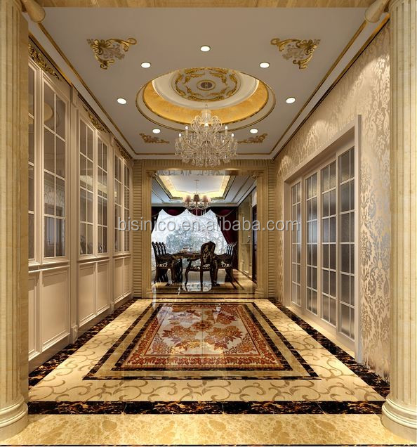 High Quality House Passage Ceiling, Wall and Floor Design with 3D Rendering Images