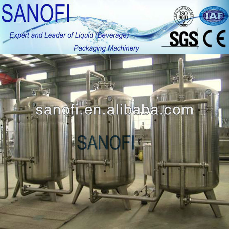 Activated Carbon / Sand Filter For Water Treatment