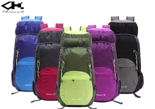 Lightweight foldable backpack for outdoor hiking,camping,travel backpack