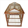 Decorative bamboouseful pet display cage