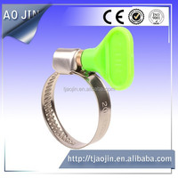 (9mm/12mm)German spring butterfly handle hose clamps