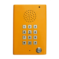 video intercom voip touch screen Audio phones with poe