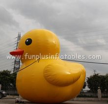 Giant inflatable yellow duck,airtight inflatable duck air balloon P4126
