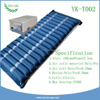 Heal and prevent bed sores alternating pressure low hospital air loss mattress with high quality pumps