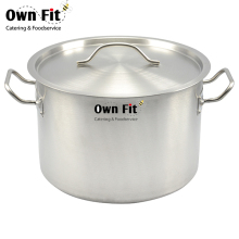 Best selling reinforced stainless steel anti-corrison stock pot