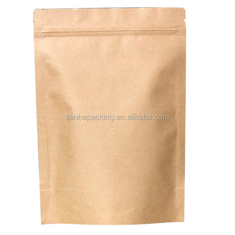 Kraft Paper Drip Coffee Bag for Coffee Filter/coffee kraft stand up pouch with valve