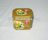 Octagon candy mints tin box