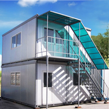 convenient construction two storey container house