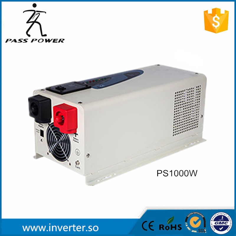 1000 watt 12/24Vdc 100/110/120Vac low frequency power solar inverter charger