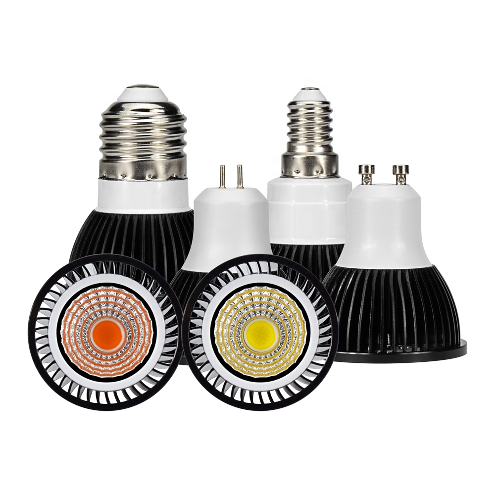 E27 E14 MR16 GU10 LED COB Gorw Lamp 5w 7w 9w 12w led spot light AC220V <strong>Spotlight</strong>