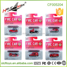 High Quality 1 64 Scale Die-cast Fire Fighting Slide Alloy Toy Diecast Model Car