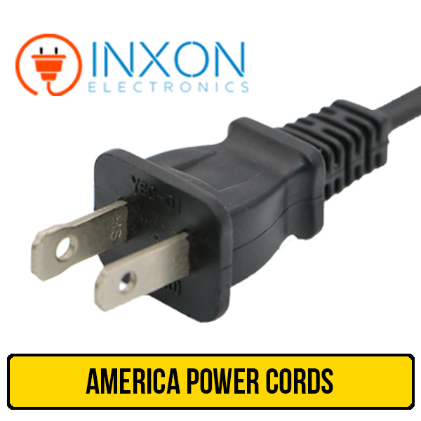 Good Quality UL CUL 2pin us american power cord plug manufacturer