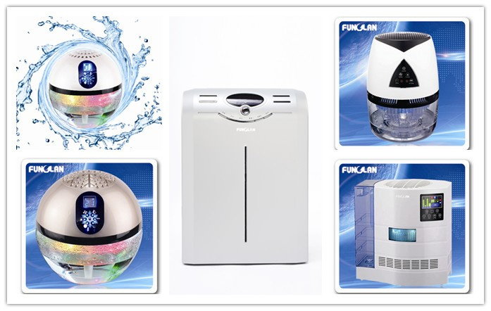 Ozone 5mg/h portable ozone air washer for desktop, toilet, office, car, auto, frig, cabinet and closet