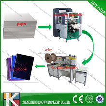 square hole punch machine for books and calendar or paper process industry