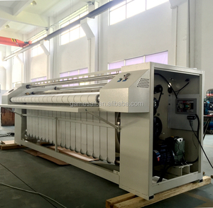 (Bedsheet, Quilt Cover, Textile, Table Cloth ironing machine) Electric, Gas, LPG, Steam, 2000mm Automatic ironing machine