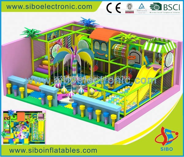 GM0 children play room with fence game room equipment Children amusement park equipment