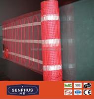 electric floor heat underfloor radiant heat with UL certificate heating mat under tile