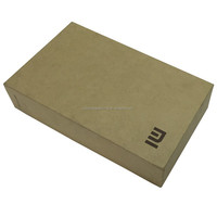 Brown Kraft Cellphone Case Paper Box Packaging Box For Cellphone Case With Insert