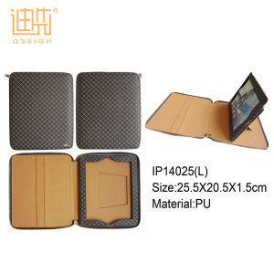 Large supply ability card holder filp stand pu leather shockproof tablet case for ipad / samsung