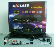 Azclass S1000 plus Amozonas tv Satellite dbvs2 hd decoder support Nagra 3 decoders