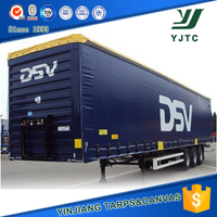 Tear Restisance PVC Coated Tarpaulin Fabric For Truck Cover