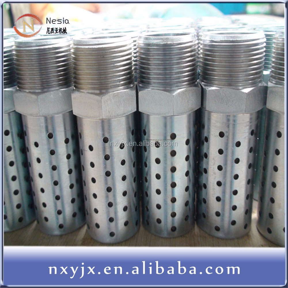 high performance air exhaust pneumatic muffler filter