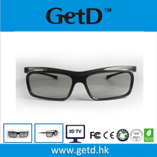 Fashion RD Folding Frame Reald 3D Movies Glasses / 3D Glasses For TV CP297G68R
