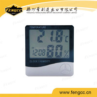 fashion gifts digital clock thermohygrograph for office or home