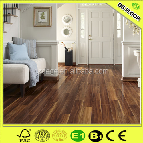 8mm/12mm hdf parked wood laminated flooring China supplier my floor