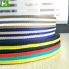 High quality color belt most popular stripe webbing fabric