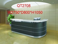 high quality curved shape hospital reception desk factory sell directly QT2708