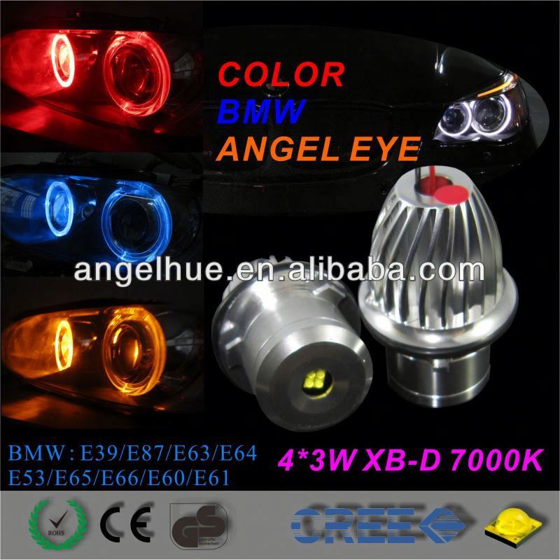 Auto car led light,Angel eyes headlight 20w,car accessories hid projector lens bi-xenon