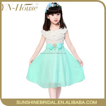 Fashion Sleeveless Short Party Vest Dresses for 7 Year Old Girls