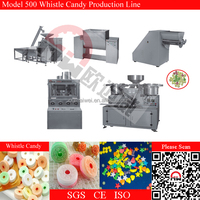 Gum Base Whistle Candy Making Machine